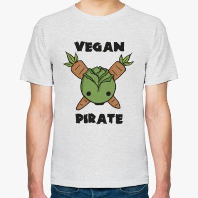 Футболка Веган - пират