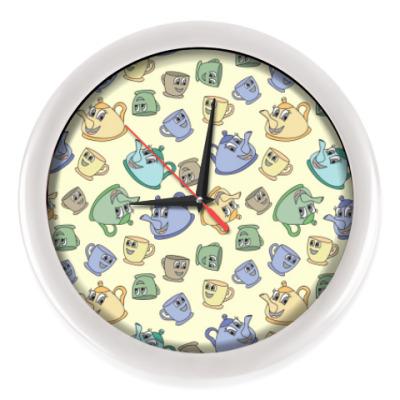 Настенные часы Чайники