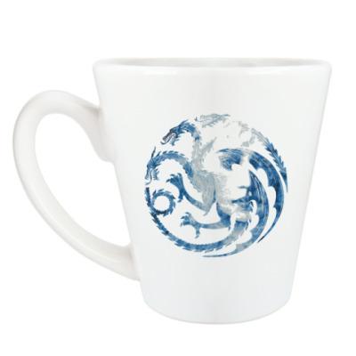 Чашка Латте Khaleesi and Dragons