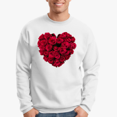 Свитшот Сердце из роз