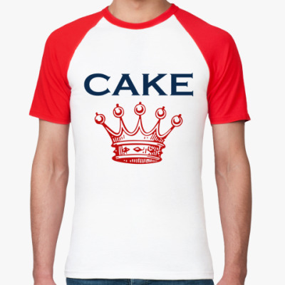 Футболка реглан Cake