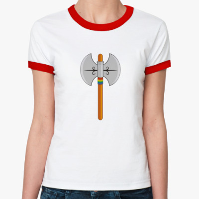 Женская футболка Ringer-T  Labrys