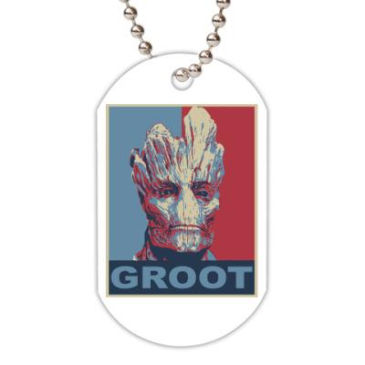 Жетон dog-tag Groot