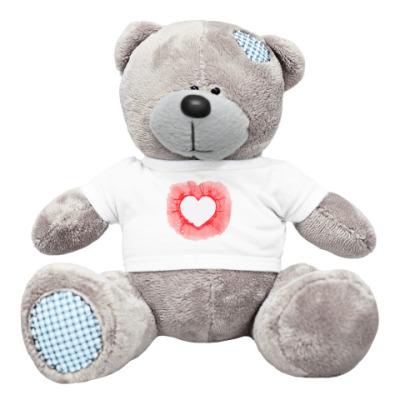 Плюшевый мишка Тедди 'Пустое сердце'