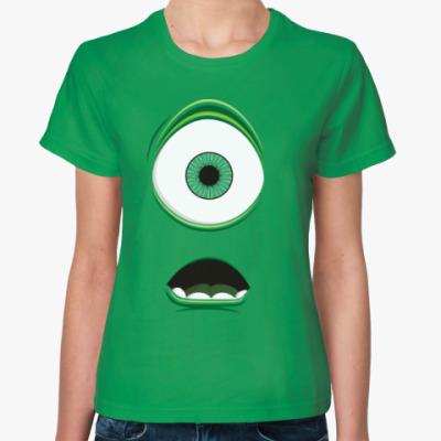 Женская футболка Одноглазый монстр monster
