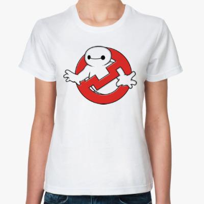 Классическая футболка Баймакс (Город Героев)