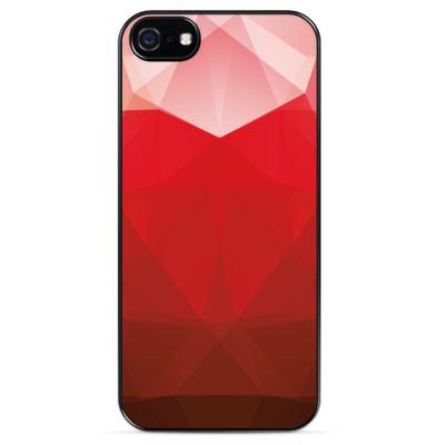 Чехол для iPhone Love Geometry