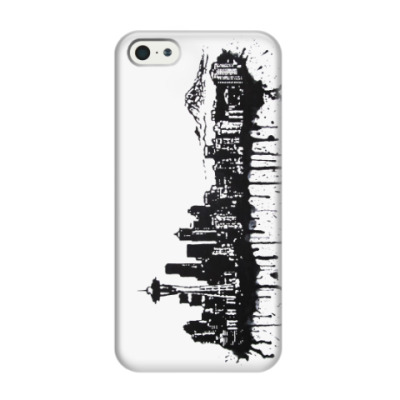 Чехол для iPhone 5/5s Seattle