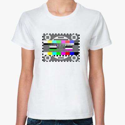 Классическая футболка Test Pattern