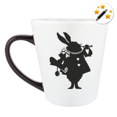 Кружка-хамелеон Алиса в стране чудес/ Alice in wonderland