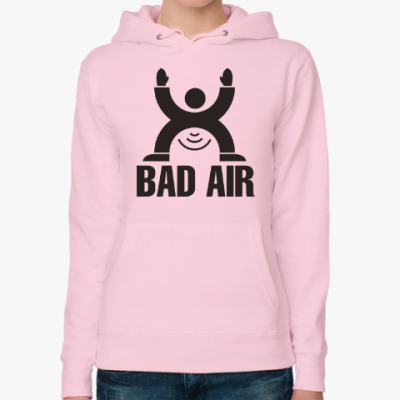 Женская толстовка худи Плохой воздух