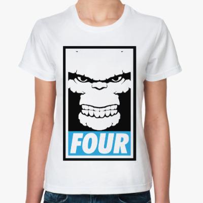 Классическая футболка Существо (Фантастическая Четверка)