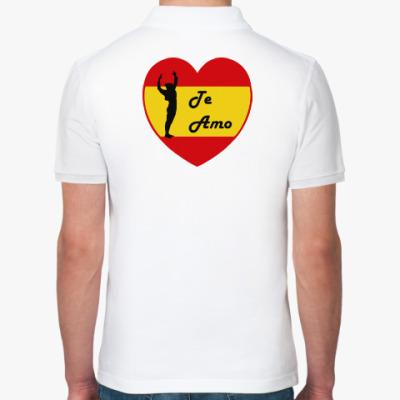 Рубашка поло Я люблю тебя по-испански