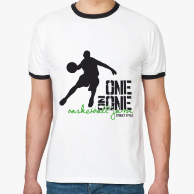 Футболка Ringer-T One On One