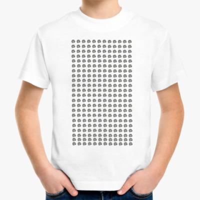 Детская футболка много жукашек
