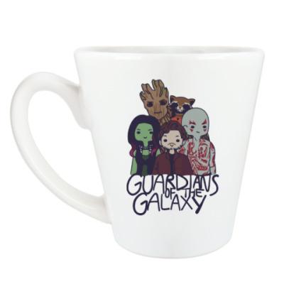 Чашка Латте Стражи галактики