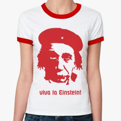 Женская футболка Ringer-T Einstein  жен (б/к)