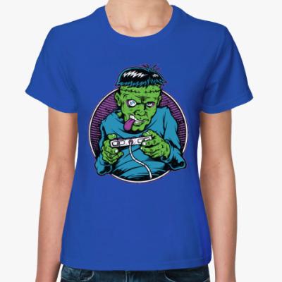 Женская футболка Геймер