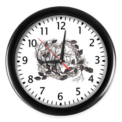 Настенные часы The Leaves
