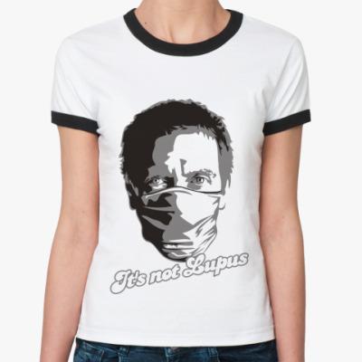 Женская футболка Ringer-T   Lupus