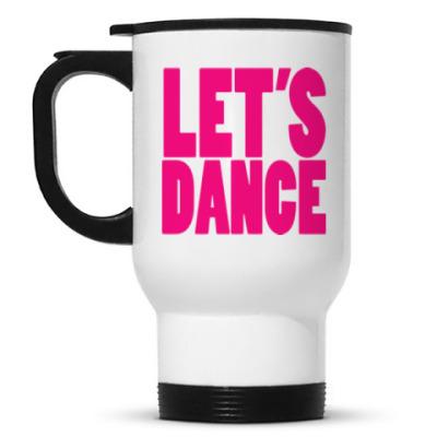 Кружка-термос Let's dance