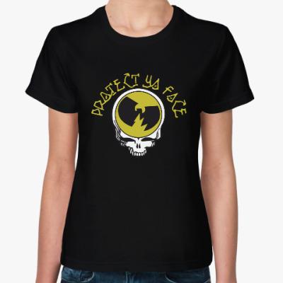 Женская футболка Protect Ya Face