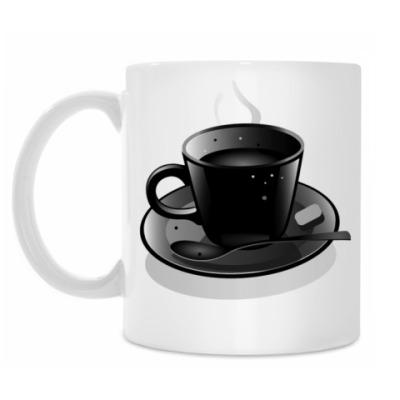 Кружка Черная Чашка