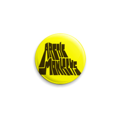 Значок 25мм  Arctic Monkeys
