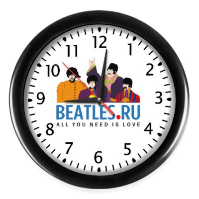 Настенные часы Часы Beatles.ru