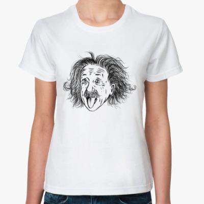 Классическая футболка Einstein