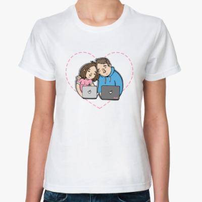 Классическая футболка Love IT