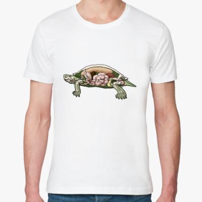 Футболка из органик-хлопка Черепаха