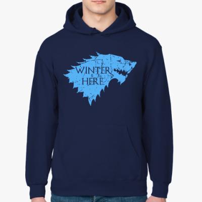 Толстовка худи Игра престолов. Winter is here