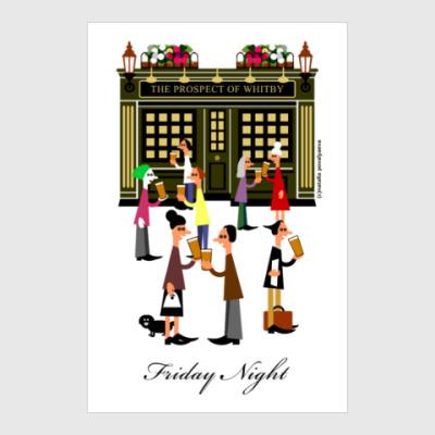 Постер Вечер пятницы в Лондоне