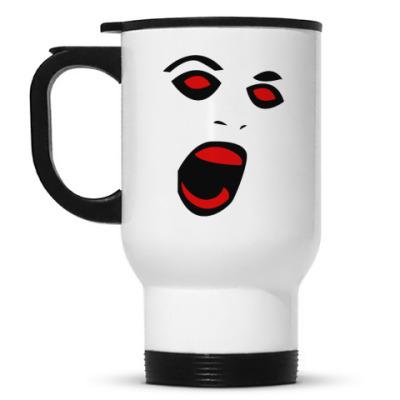 Кружка-термос Scream