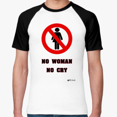 Футболка реглан No Woman