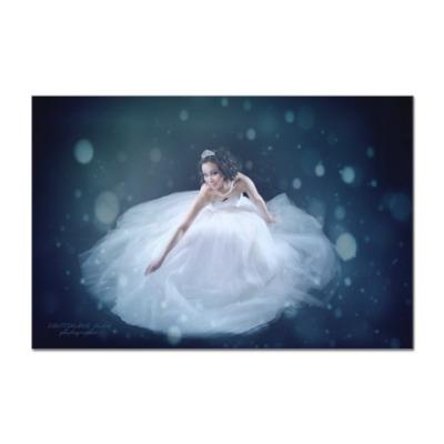 Наклейка (стикер) Снежная королева