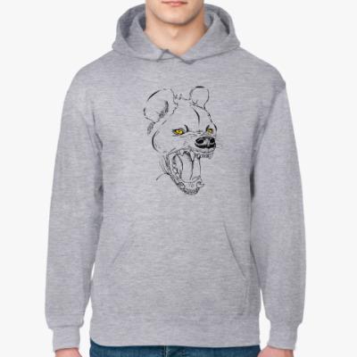 Толстовка худи хохочущая гиена