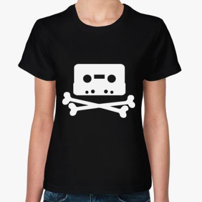 Женская футболка   Pirate