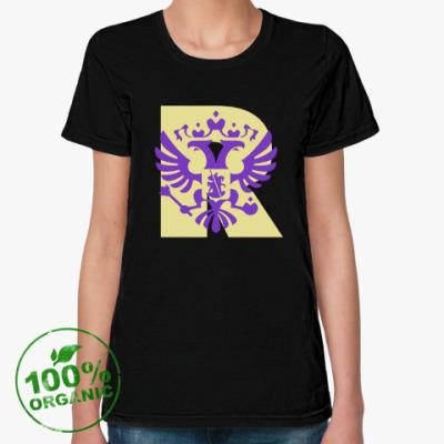 Женская футболка из органик-хлопка Россия R