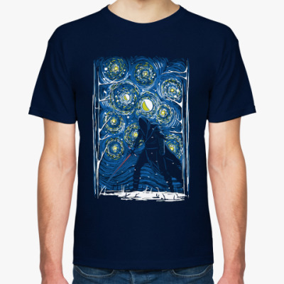 Футболка Dark Side Ван Гог