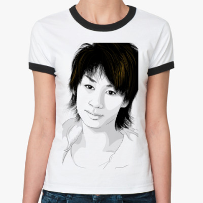 Женская футболка Ringer-T    Мару