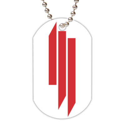 Жетон dog-tag Skrillex