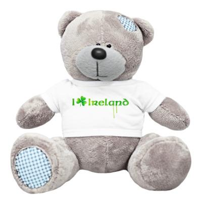 Плюшевый мишка Тедди I love Ireland
