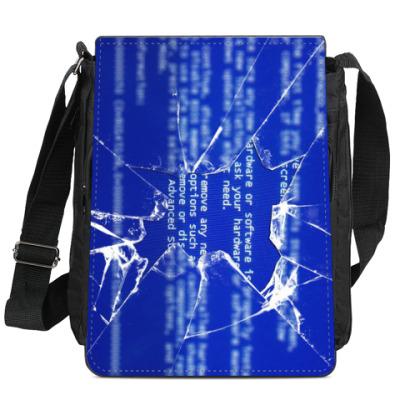 Сумка-планшет Разбитое стекло