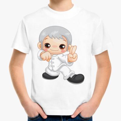Детская футболка Мальчик-каратист