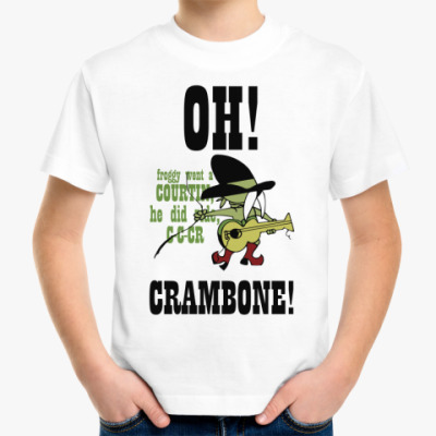 Детская футболка Crambone!