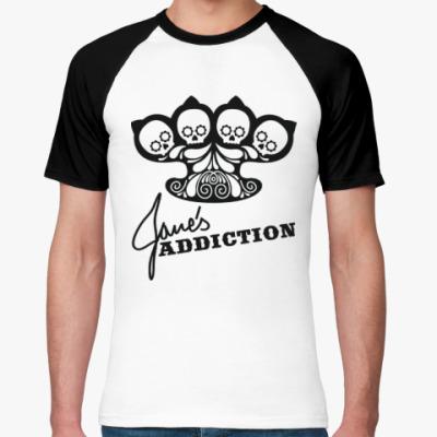 Футболка реглан Jane's Addiction