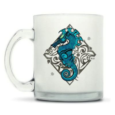 Кружка матовая Морской Конь