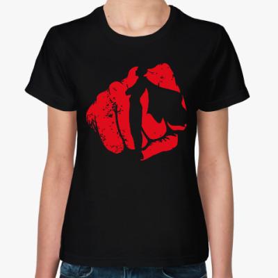 Женская футболка Сайтама